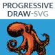 Progressive Draw - SVG