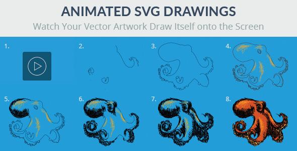 Progressive Draw - SVG - CodeCanyon Item for Sale