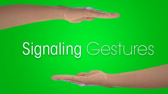Signaling Gestures