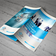 Blue Corporate Trifold - GraphicRiver Item for Sale