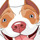 Pitbull  dog - GraphicRiver Item for Sale
