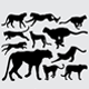 Pet and Wild Animal Silhouettes - GraphicRiver Item for Sale