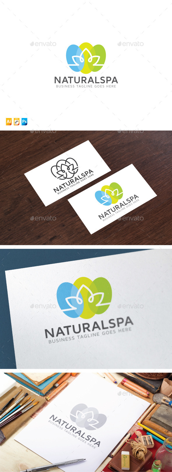 Natural Spa - Nature Logo Templates