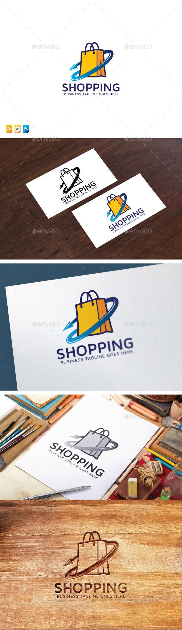 Shopping Logo - Objects Logo Templates
