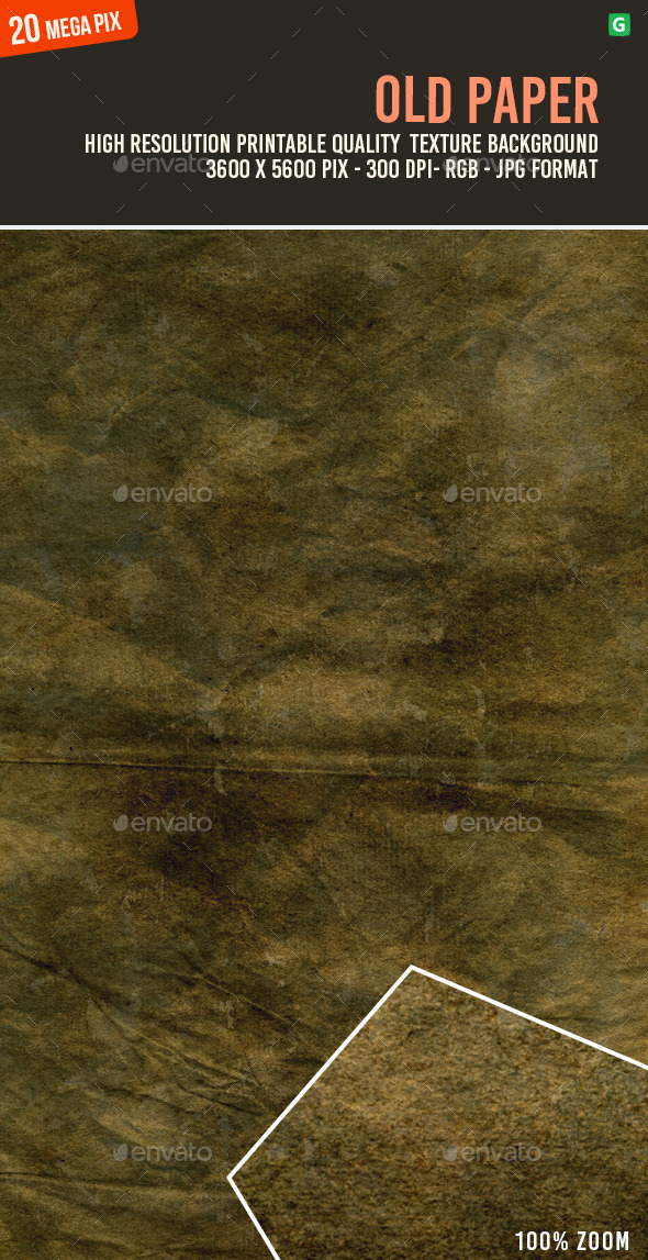 Old Paper 159 - Paper Textures