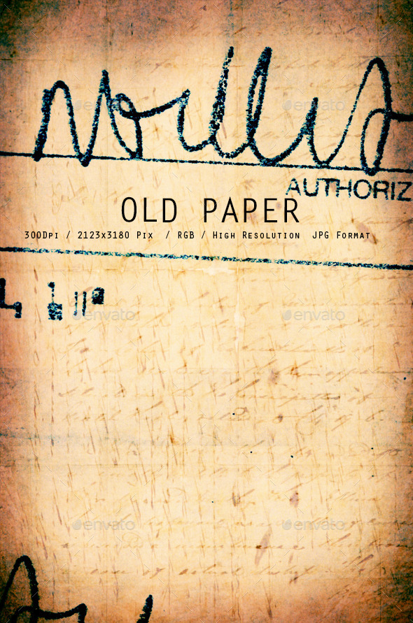 Old Paper 0161
