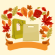 Autumn Shopping Bags and Ribbon - GraphicRiver Item for Sale