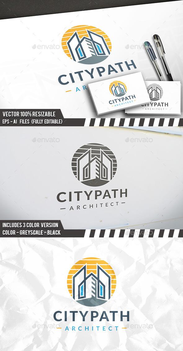 Modern Construction Logo - Buildings Logo Templates