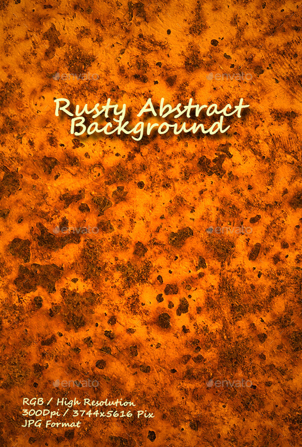 Rusty Abstract Background 0171 - Textures