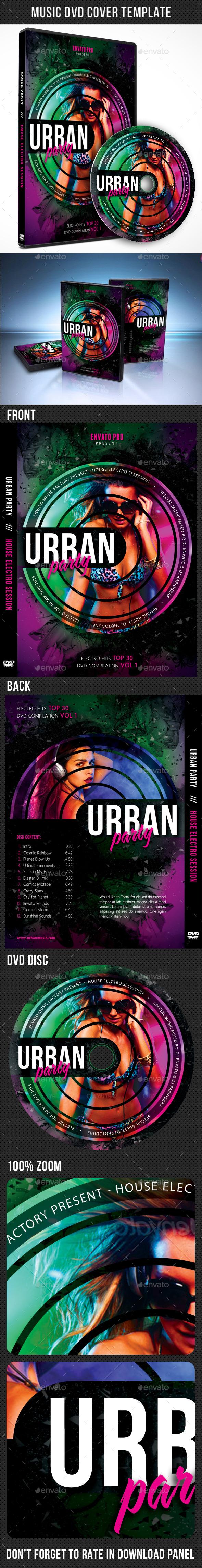 Music DVD Cover Template V11 - CD & DVD Artwork Print Templates