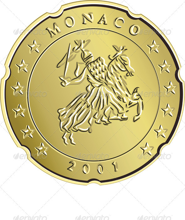 Vector Money Money Gold Eurocent Monaco - Concepts Business