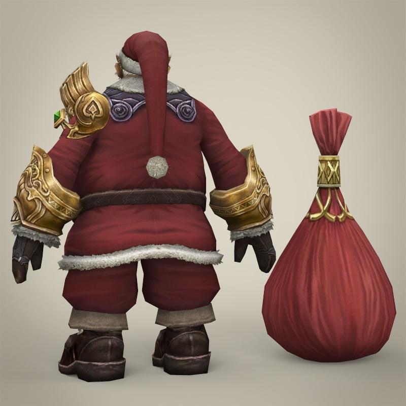 Fantasy Santa Claus With Bag By Cghriggs 3docean