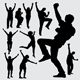 People Action Silhouettes - GraphicRiver Item for Sale