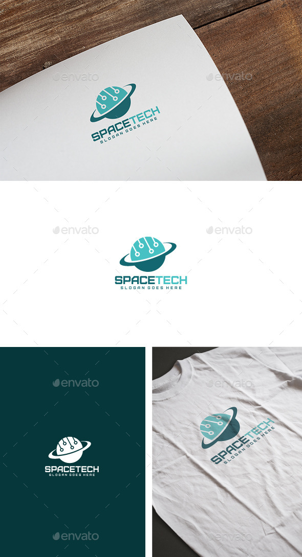 Space Tech Logo