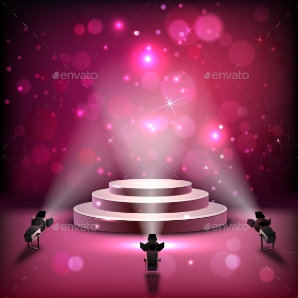 spotlight scene background by macrovector graphicriver