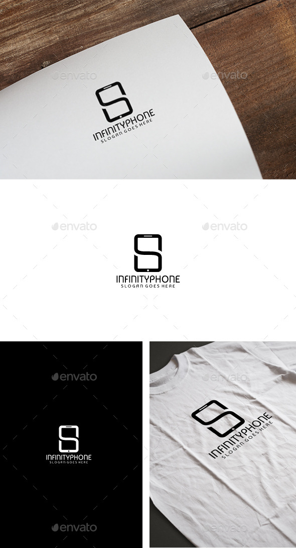 Mobile Endless Logo - Symbols Logo Templates