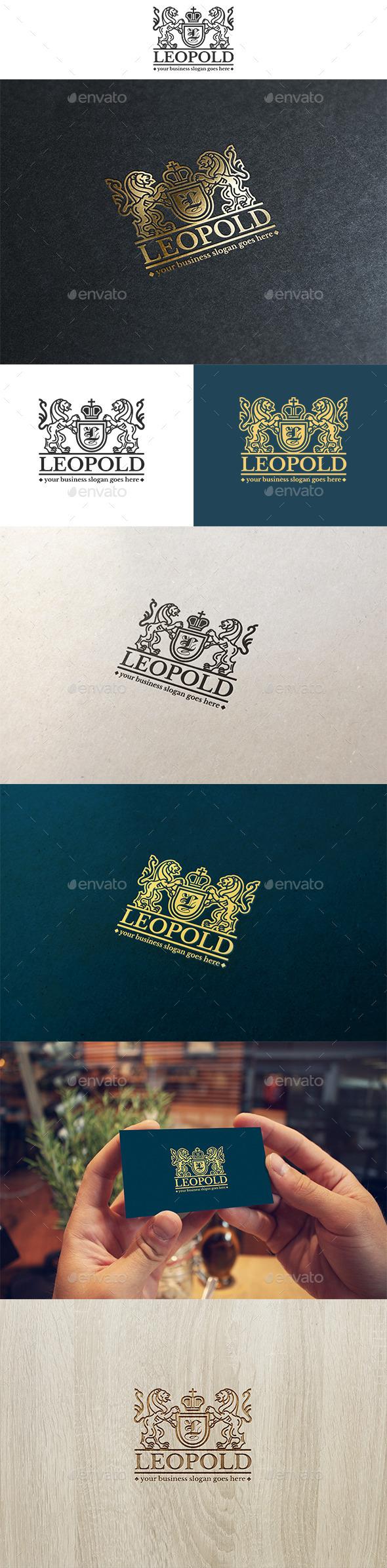 Leopold Logo - Crests Logo Templates