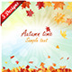 Set of 5 Autumn Designs - GraphicRiver Item for Sale