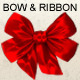 3D Render of Bow and Ribbon - GraphicRiver Item for Sale