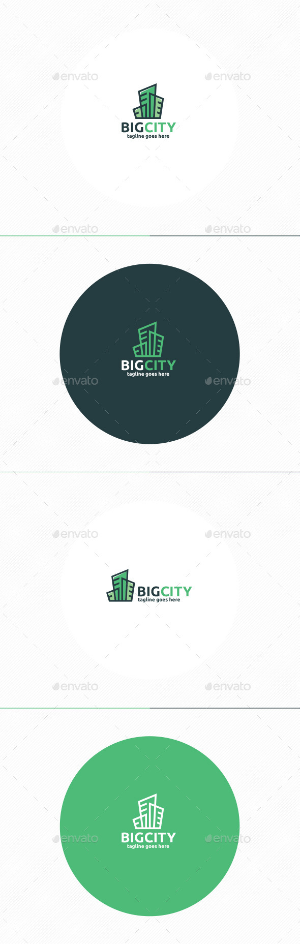 Big City Logo - Buildings Logo Templates