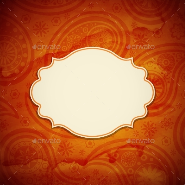 Frame in Indian Style