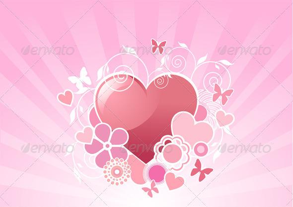 Valentine heart design - Valentines Seasons/Holidays