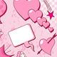 Love speech bubbles - GraphicRiver Item for Sale