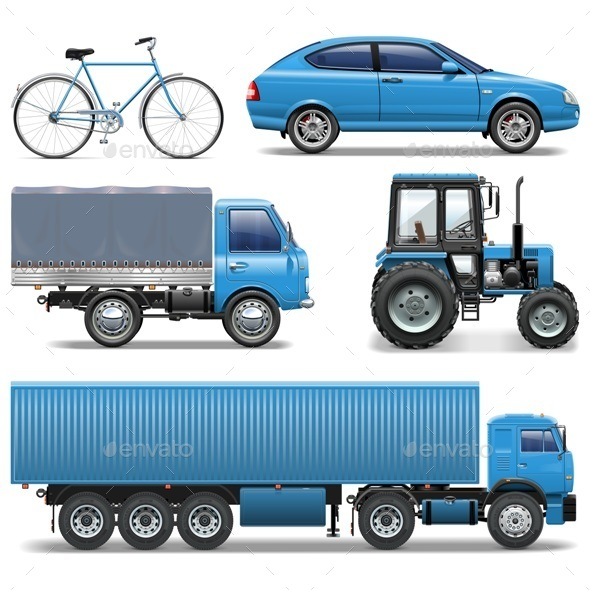 Vector Vehicle - Travel Conceptual
