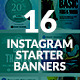 Instagram Banners Package - GraphicRiver Item for Sale