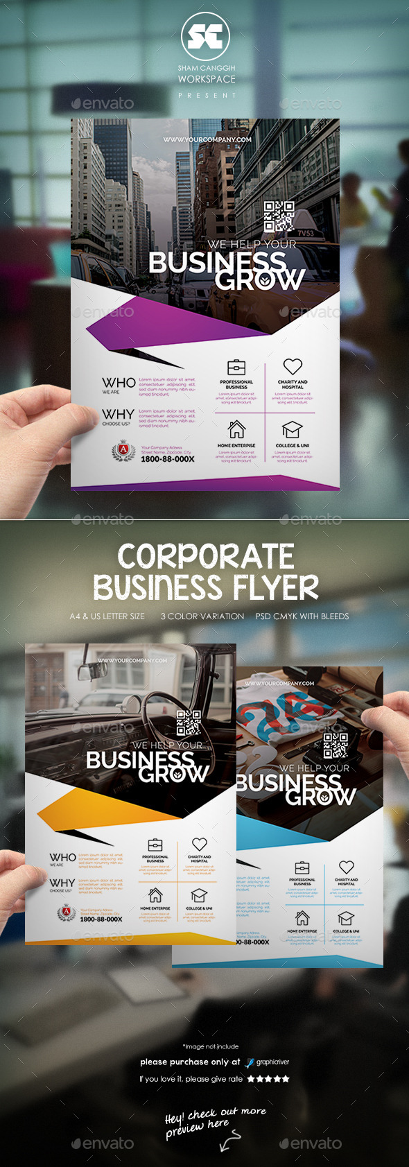 Creative Corporate Flyer Magazine Ads