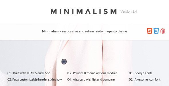 Minimalism - Responsive Magento 2 and Magento 1 Theme - Magento eCommerce