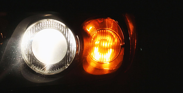 Car Headlight and Signal