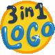 3 in 1 Logo - VideoHive Item for Sale