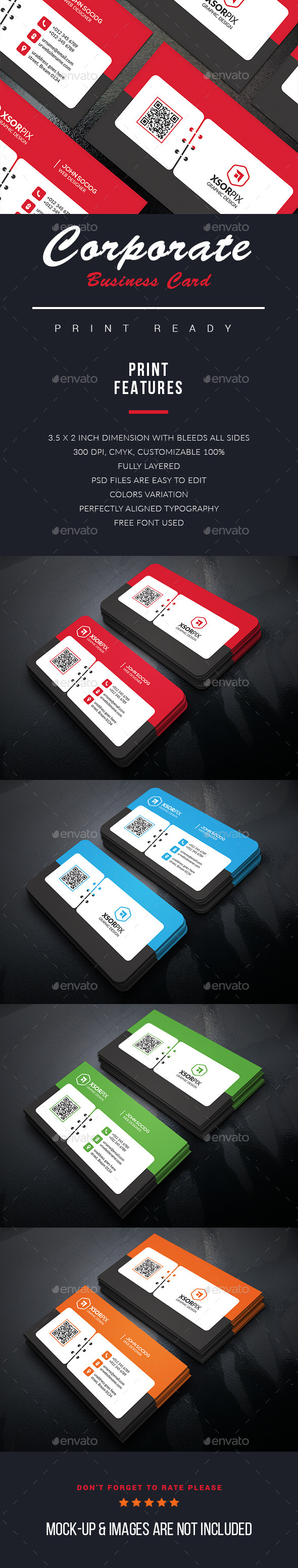 Event Business Cards - Business Cards Print Templates