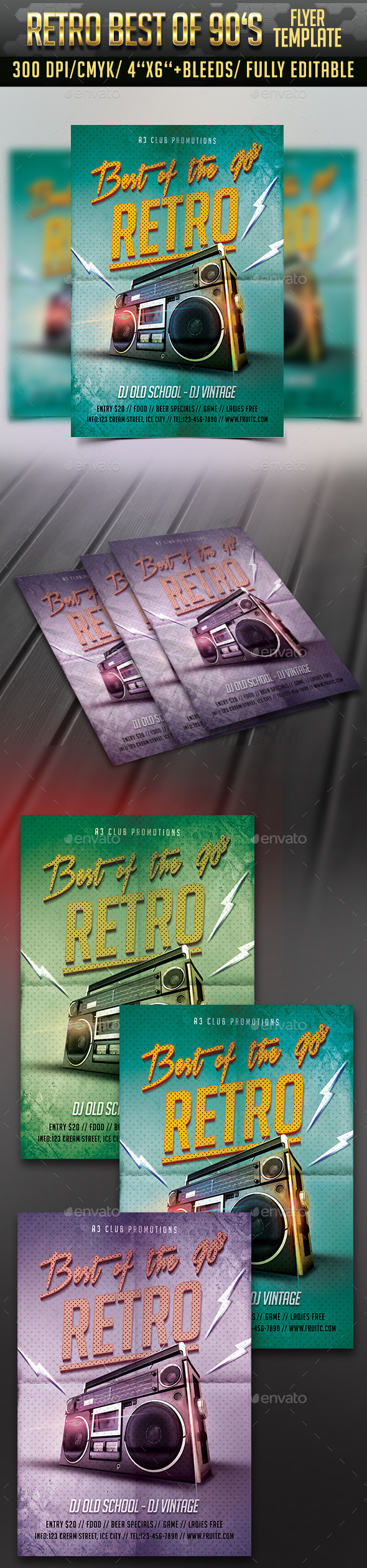 Retro of the 90's - Clubs & Parties Events
