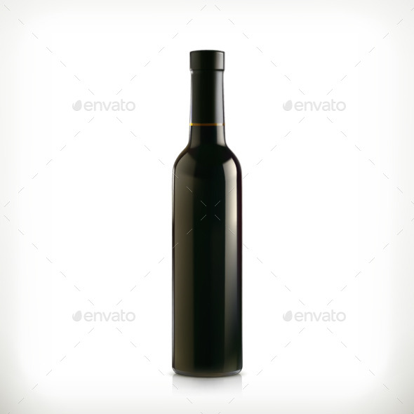 Classical Wine Bottle - Man-made Objects Objects