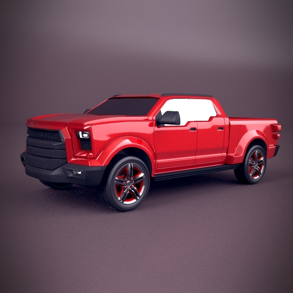 Pickup concept vehicle
