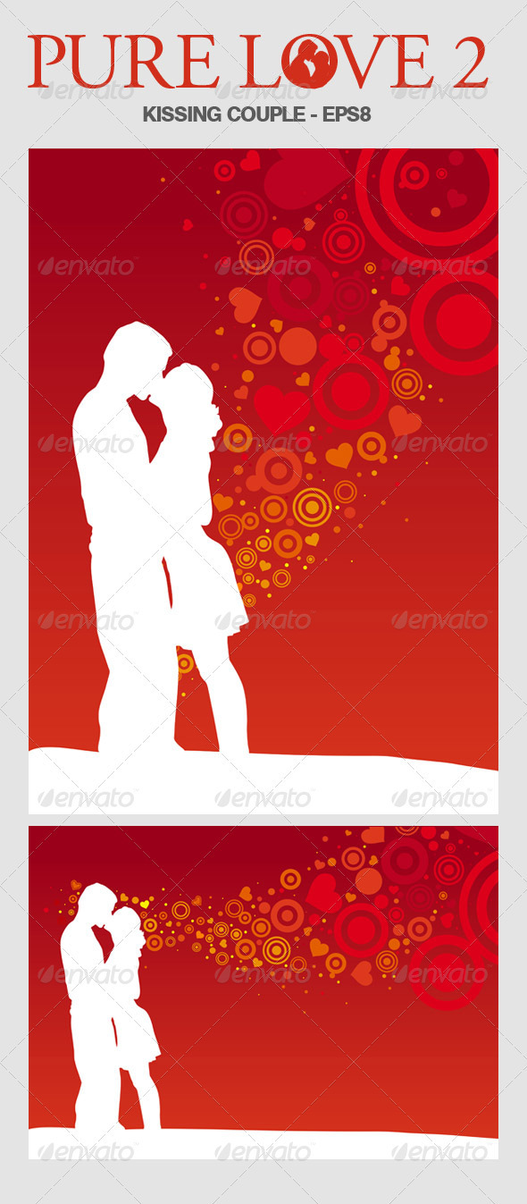 Lovers Illustration Set 2 - Valentines Seasons/Holidays