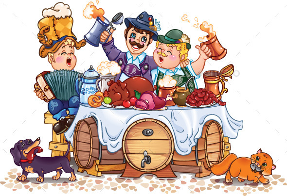 Oktoberfest Festival - Miscellaneous Seasons/Holidays
