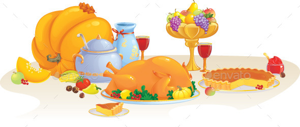 Thanksgiving Dinner - Miscellaneous Seasons/Holidays