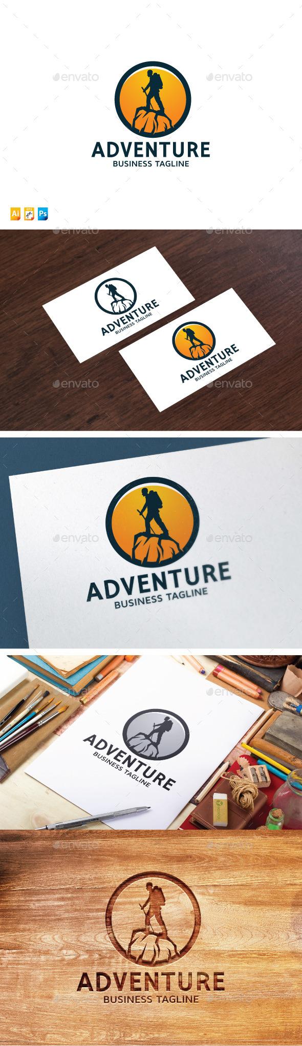 Adventure Logo - Humans Logo Templates