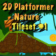 2D Platformer Nature Tileset #1 - GraphicRiver Item for Sale