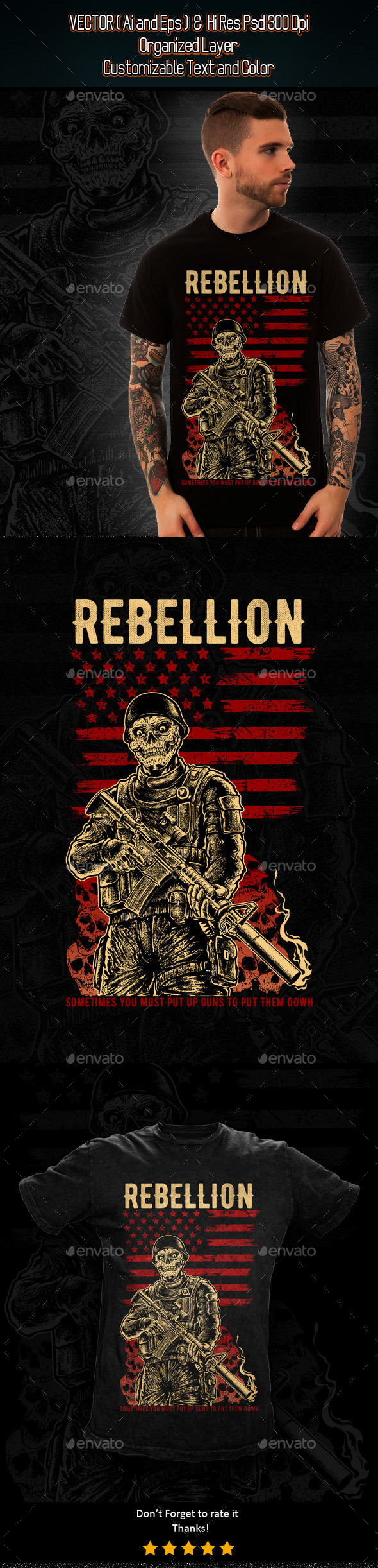 Rebellion - Grunge Designs