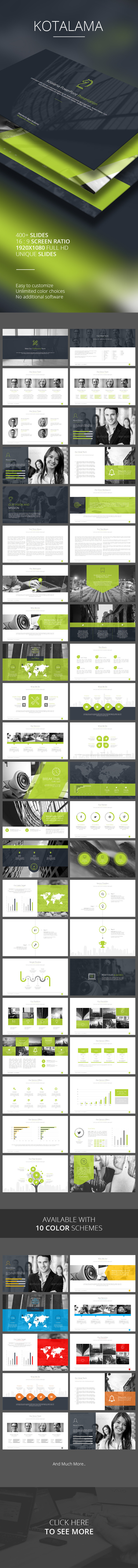 Kotalama PowerPoint Template