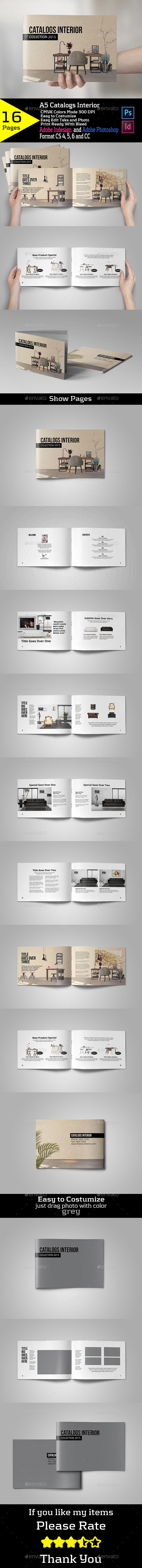 Catalogs Interior - Brochures Print Templates