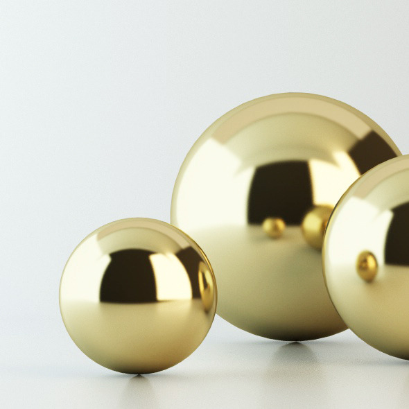 Gold Material Vray For C4d By Dade983 3docean