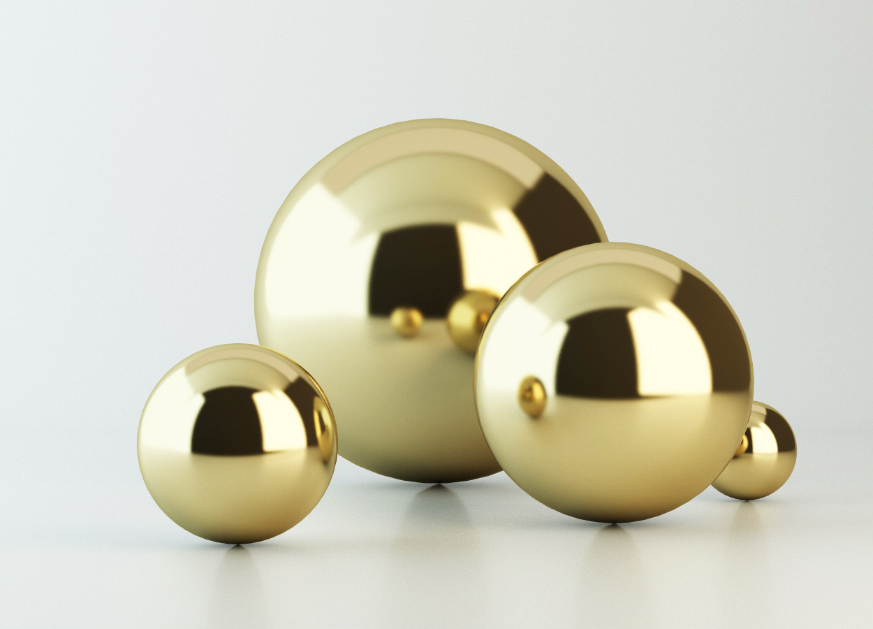 Gold Material - Vray for C4D