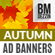 Autumn Sale Ad Banners - GraphicRiver Item for Sale