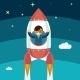 Businessman Growing Success - GraphicRiver Item for Sale