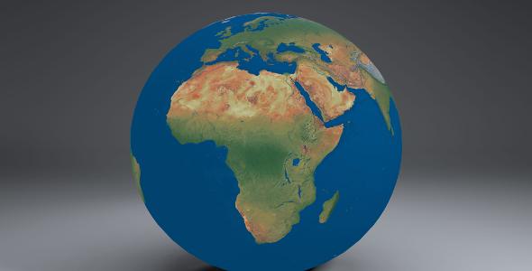 EarthGlobe16k - 3DOcean Item for Sale